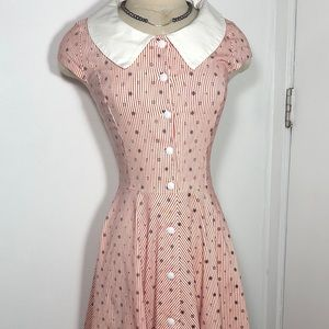 Dresses & Skirts - Gowntown 1950s Sailor dress